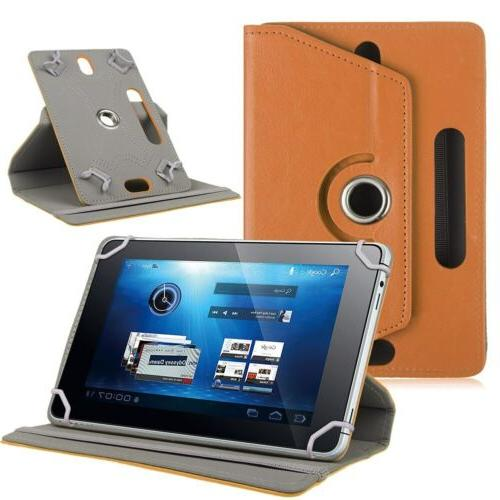 "Procase Universal Tablet Case For 7 8"" Stand Folio Protectiv"