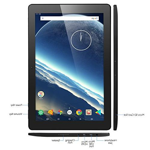 Dragon Touch Tablet 10.1 Android 2GB RAM Nand Flash 10 Inch 800x1280 Micro HDMI