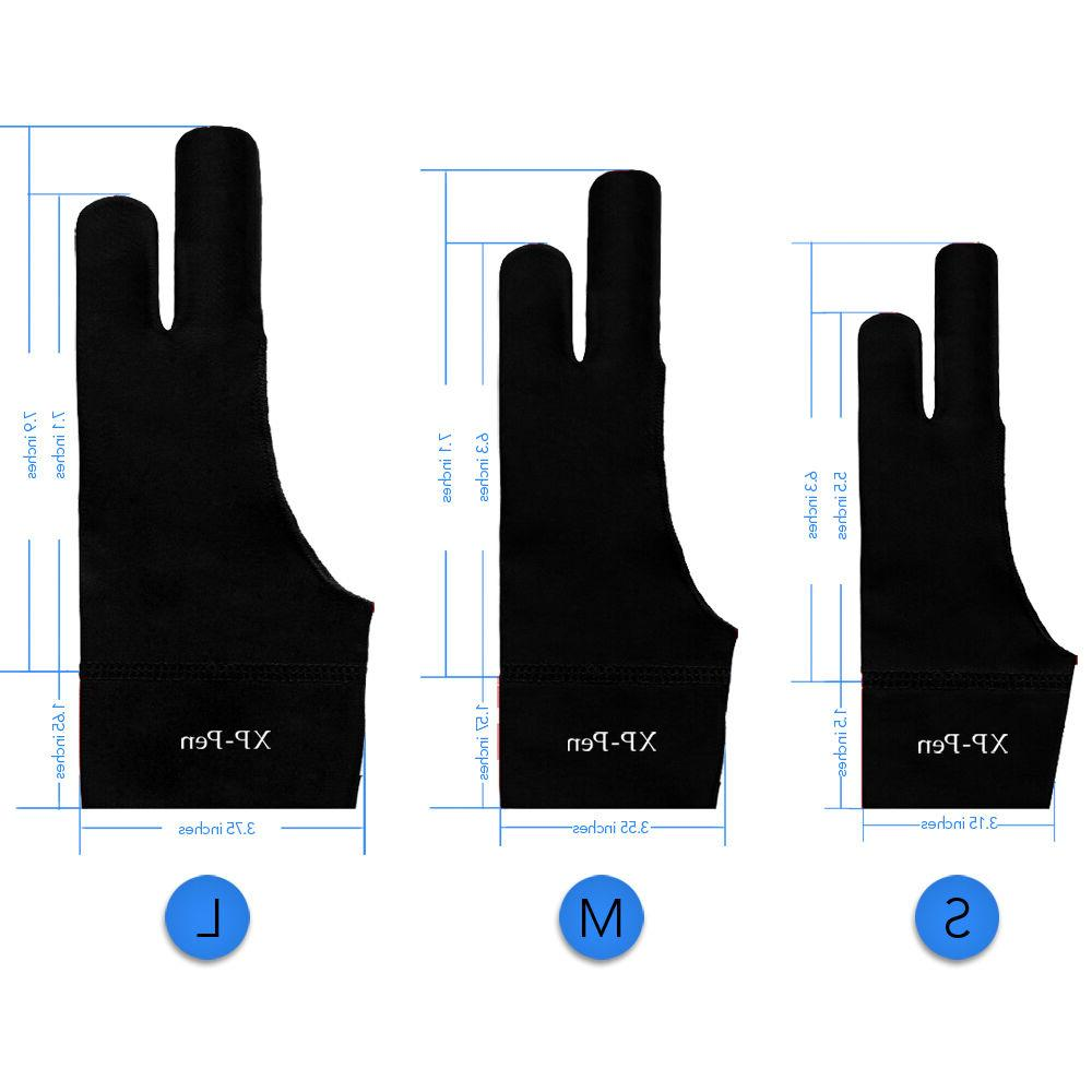 XP-Pen Drawing Glove For Graphics Tablet Pen Display S/M/L S
