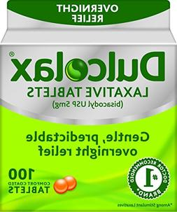 Dulcolax 5 mg laxative tablets for constipation - 100 ea