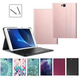 Fintie Leather Case Cover + Bluetooth Keyboard For Samsung G