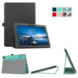 Fintie Leather Folio Case for Lenovo TAB E10 TB-X104F 10.1''