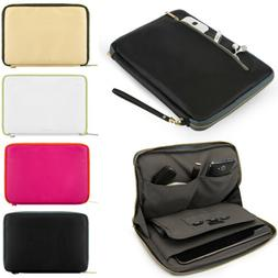 """VanGoddy Leather Tablet Sleeve Pouch Case Bag For 10.5"""" Micr"""