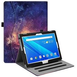 Fintie Lenovo Tab 4 10.1 Case, Multi-Angle Viewing Folio Sta
