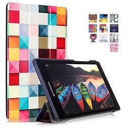 Lenovo Tab2 A8 Case, WITCASE Colorful Tri-Fold Multi-Angle S