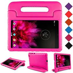 BMOUO Kids Case for LG G Pad X 8.0 - Carry Handle Child Stan