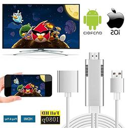 MHL to HDMI Adapter for Smartphones, WEILIANTE HD 1080P HDMI