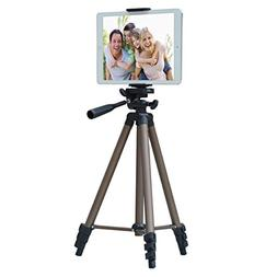 APRO 50-inch Lightweight Aluminum Tripod for Phone Camera Ta