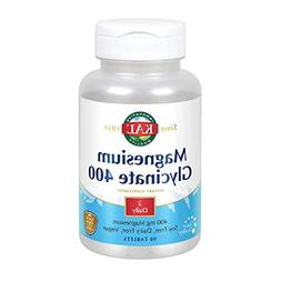 KAL Magnesium Glycinate 400 | Vegan, Chelated, Non-GMO, Soy,