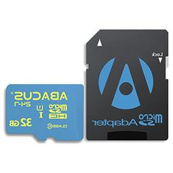 Abacus24-7 32 GB Memory Card  for Cell Phones and Tablets