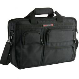 Alpine Swiss Messenger Bag 15.6 Inch Laptop Briefcase with T