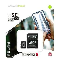 KINGSTON MICRO SD CARD 32GB CLASS 10 TF for Android Samsung