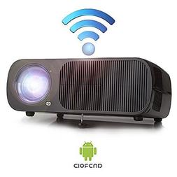 "Yuntab Mini Video WiFi Projector Android BL20 200"" Portable"