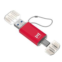 mosDART 16GB Type C OTG Dual Flash Drive  High Speed for And