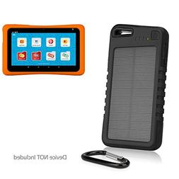 Nabi Hot Wheels Tablet Battery, BoxWave ] Solar Powered Back
