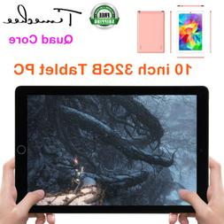 """New 10.1"""" Android 8 Tablet PC Quad Core 32GB HD Dual Camer"""