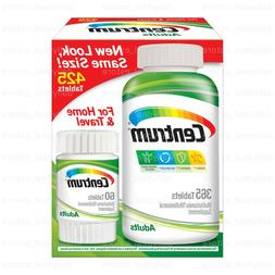 Centrum Adults Multivitamin, 425 Tablets **Free Shipping**