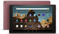 "NEW Amazon Fire HD 10 Tablet 10.1"" Display 32 GB  - PLUM"