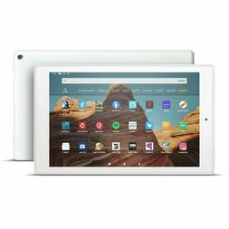 """NEW Amazon Fire HD 10 Tablet 10.1"""" Display 32 GB  - WHITE"""