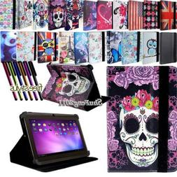 New Folio Stand Leather Cover Case For Various ALLDAYMALL Mo