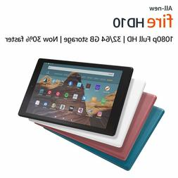 All-New Fire HD 10 Tablet  - 32GB/64GB  - 3 COLORS
