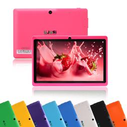 "iRULU New Tablet PC Multi-Color 7"" Google Android 6.0 Quad C"