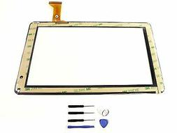 "New Touch Screen Digitizer panel glass for 9"" inch iRulu eXp"