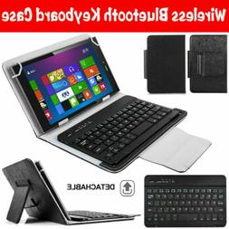 For Onn 7.0 8.0 10.1 inch Tablets Stand Folio Case Cover wit