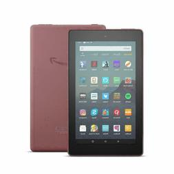 "Plum - Amazon Fire 7 Tablet With Alexa 7"" Display 16 GB 9th"