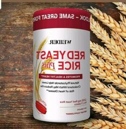 Weider Red Yeast Rice Plus, 240 Tablets