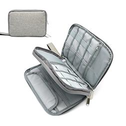 Portable Electronic Accessories Storage Case - Home and Trav