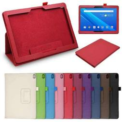 Protective Leather Cover Fold Case For Lenovo Tab P10/M10 10
