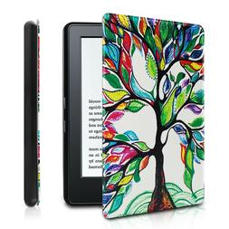 Infiland PU Leather Case Cover For All-New Kindle E-reader 6