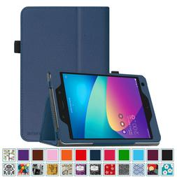 PU Leather Folio Case Cover Stand for ASUS ZenPad Z8s ZT582K