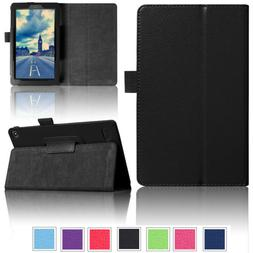 PU Leather Smart Case For Amazon Kindle Fire HD 10 8 7 7th G