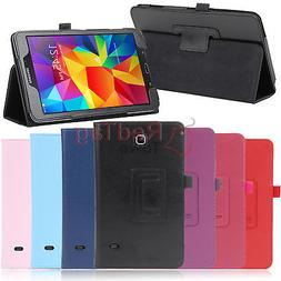 PU Leather Stand Case Cover For Samsung Galaxy Tab 4 7.0 8.0