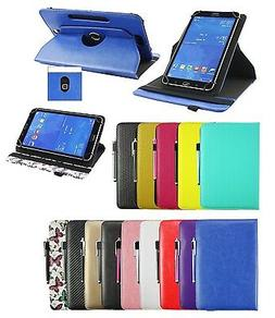 "Brand New Tablet Case Folio Wallet Cover Stand for 9"" to 10"""