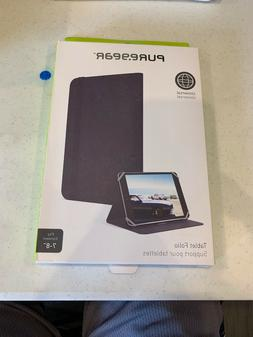 """PureGear Universal Tablet Folio Cover Case for 7-8"""" Tablets"""