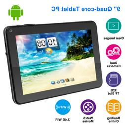 Quad Core 9 Inch Kids Tablet PC Android Dual Camera HD WiFi