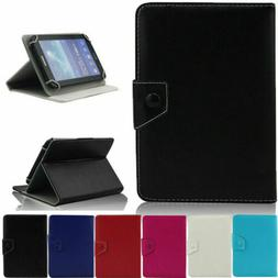 "UNIVERSAL 10"" inch Leather Protective Stand Case Cover for A"