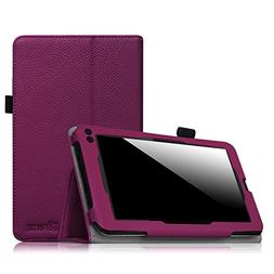 RCA Voyager 7 Case, Slim PU Leather Flip Foilo Case Folding