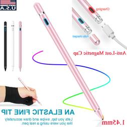 Rechargeable Capacitive Touch Screen Pen Stylus for Smartpho