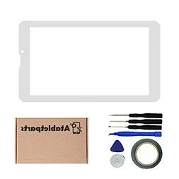 Atabletparts Replacement Digitizer Touch Screen Front for Dr