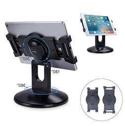 AboveTEK Retail Kiosk iPad Stand, 360° Rotating Commercial