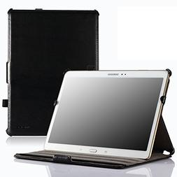 MoKo Samsung Galaxy Tab S 10.5 Case - Genuine Leather Slim-F