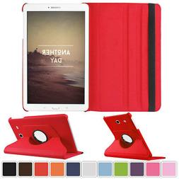 For Samsung Galaxy Tab A 10.1 T580 P580 Tablet Rotating Leat