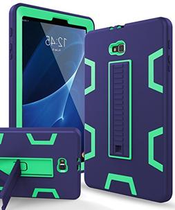 Samsung Galaxy Tab A 10.1 Case,XIQI Three Layer Hybrid Rugge