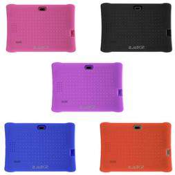 SDEALS Silicone Soft Cover, 7-Inch Tablets with Protective S