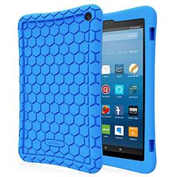 Fintie Silicone Case for All-New Amazon Fire HD 8  - Honey C