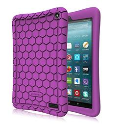 Fintie Silicone Case for All-New Amazon Fire 7 Tablet  -   L